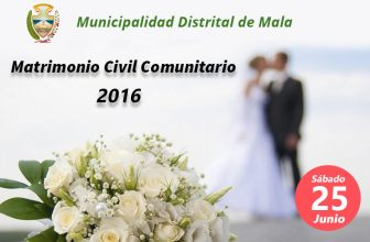 Matrimonio Civil Comunitario 2016